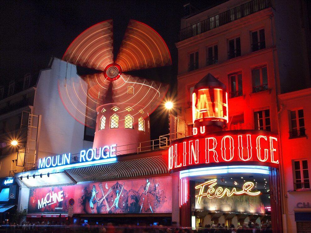 Moulin Rouge w Paryżu