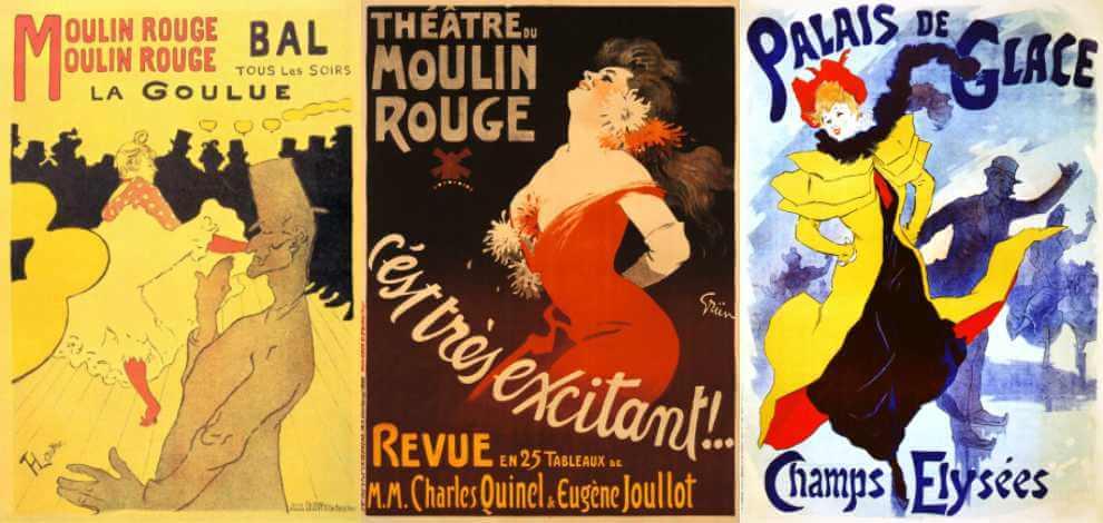 Moulin Rouge - plakaty spektakli