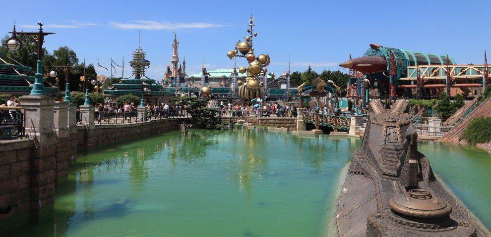 Disneyland w Paryżu - Discoveryland