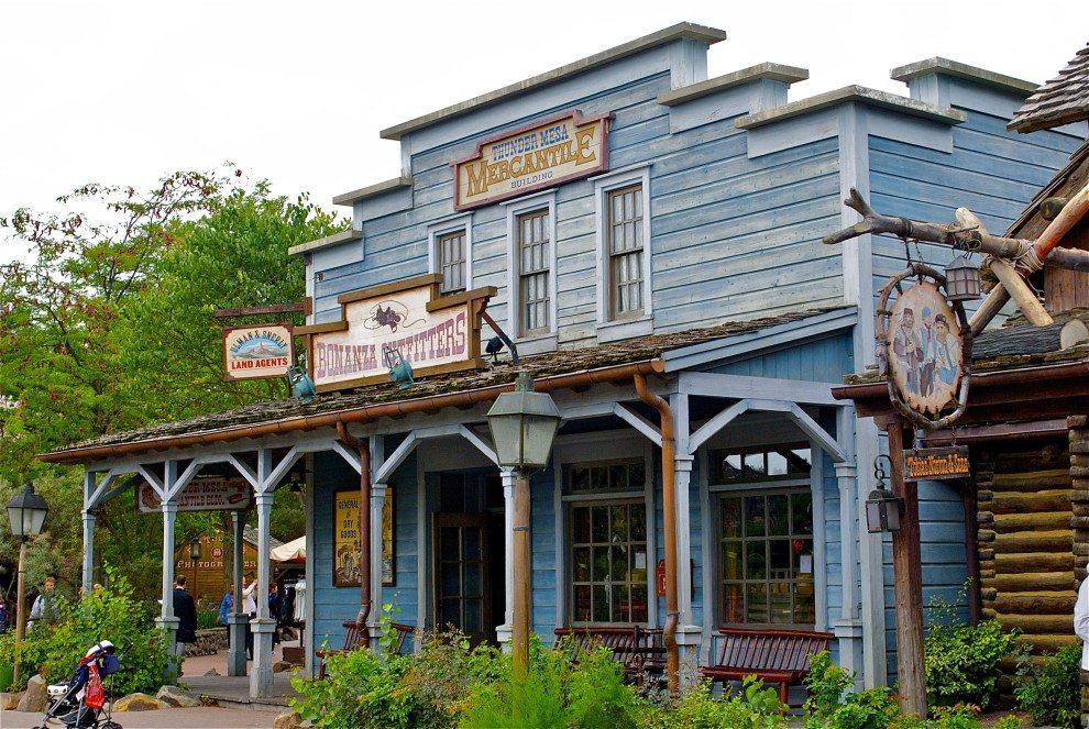 Disneyland w Paryżu - Frontierland