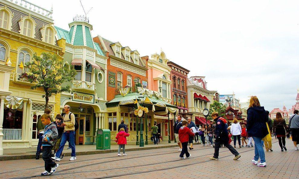 Disneyland w Paryżu - Main Street