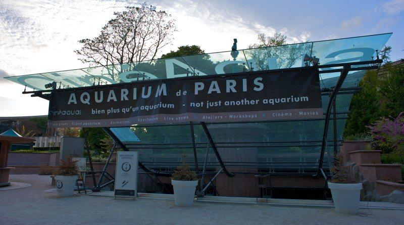 Aquarium de Paris - oceanarium w Paryżu
