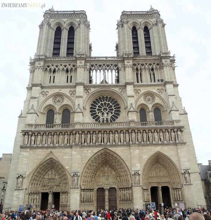 Bien connu Katedra Notre Dame - najsłynniejszy zabytek Francji - Zwiedzamy Paryż BJ28