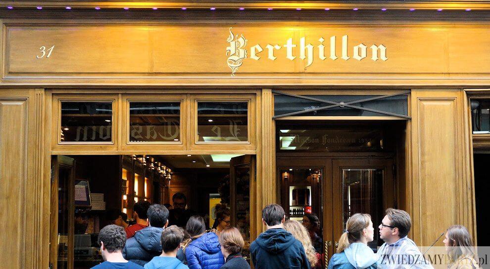 Lody Berthillon w Paryżu