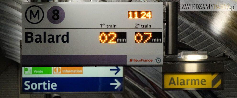 Metro w Paryżu - M8 Balard