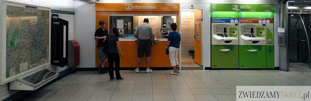 Metro w Paryżu - zakup biletów
