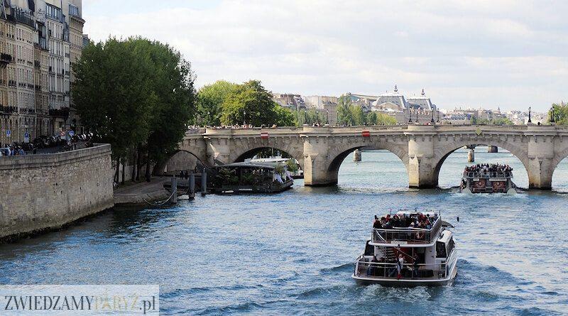 Rejs po Sekwanie - Paryż