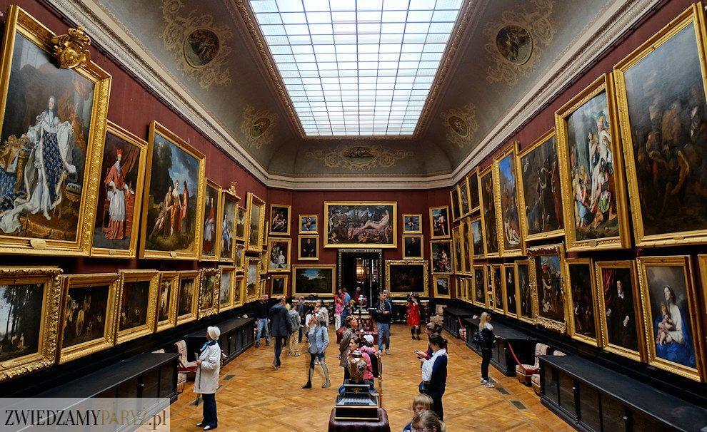 Zamek Chantilly - malarstwo