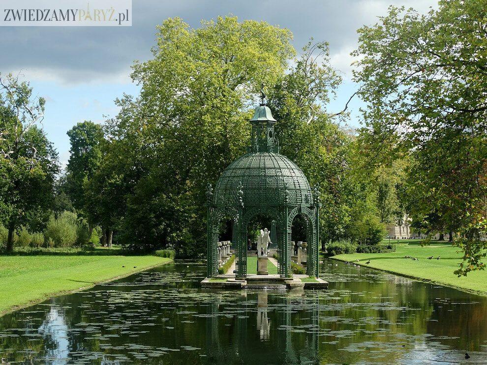 Zamek Chantilly - ogród