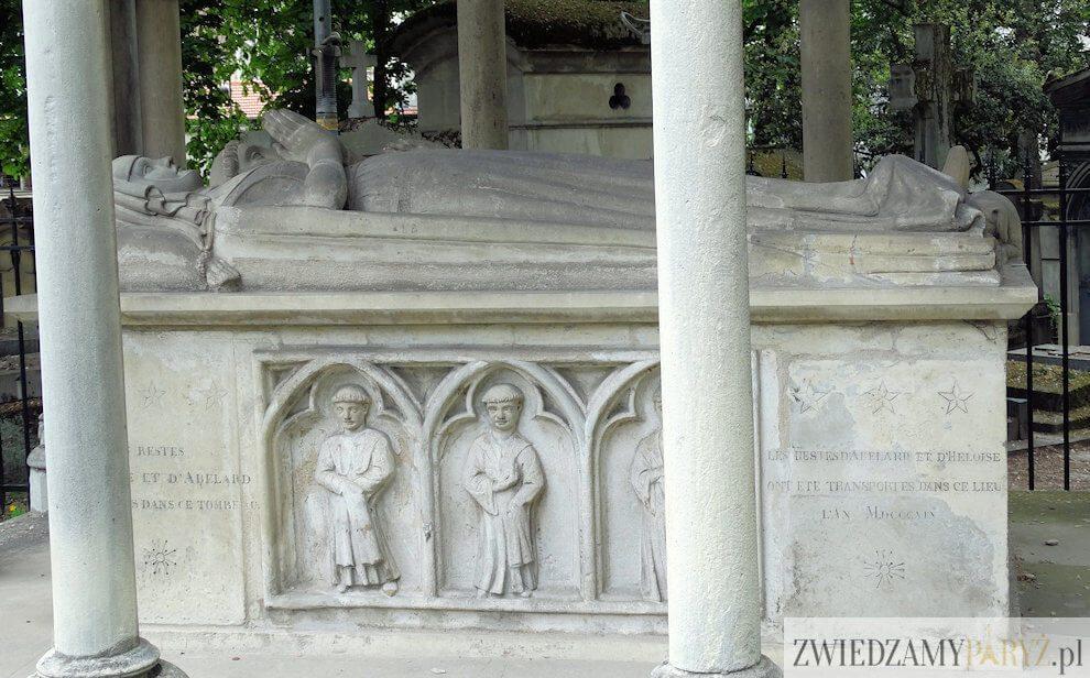 cmentarz Pere Lachaise - grób Abelarda i Heloizy