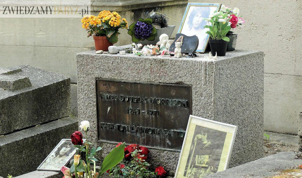 cmentarz Pere Lachaise - grób Jim Morrison