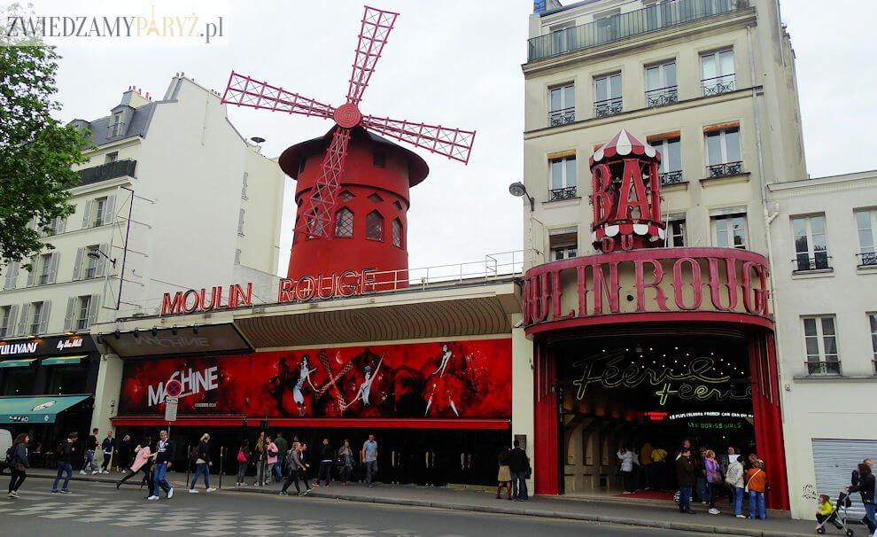 Plac Pigalle i Moulin Rouge