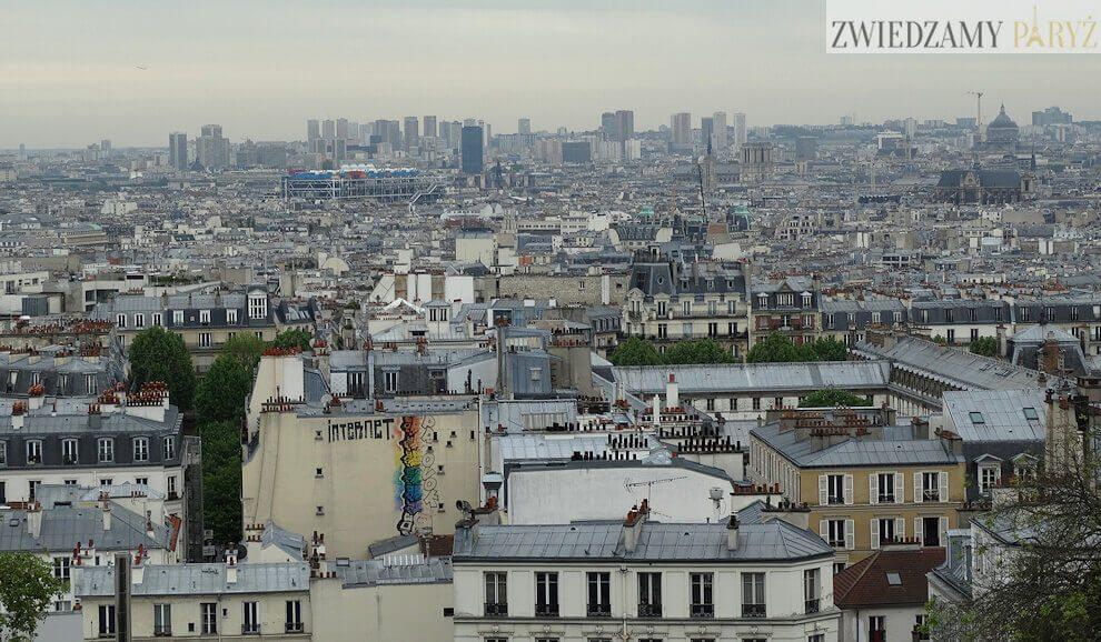 wzgorze-Montmartre-widok-na-paryz