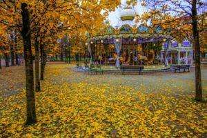 Paryż jesienią