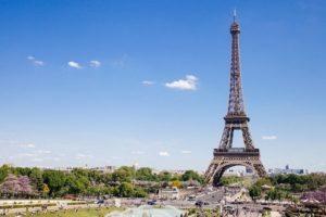 Paryż latem