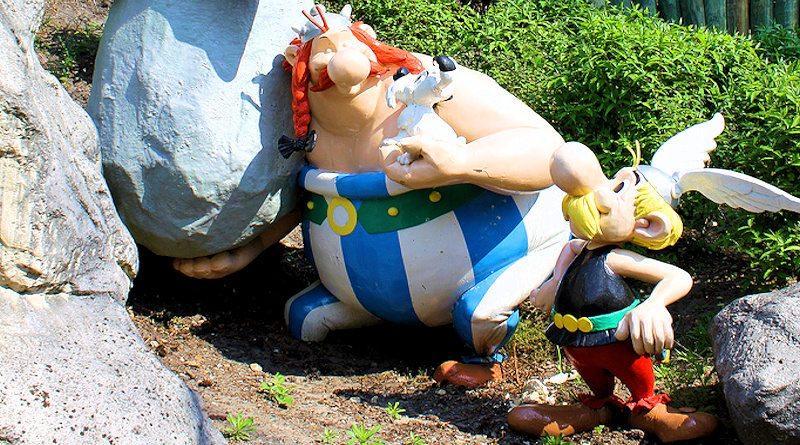 Park Asterix – wioska galów