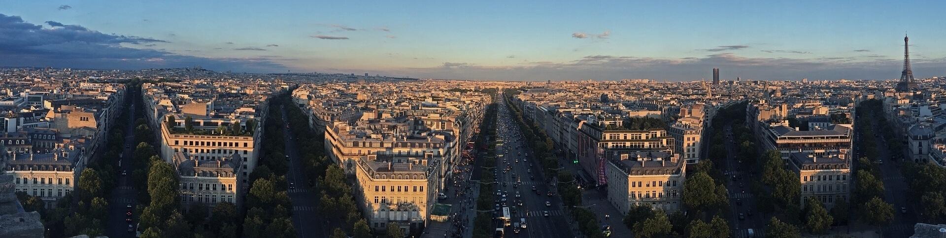Pole Elizejskie w Paryżu