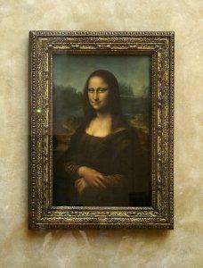 Mona Lisa Paryż