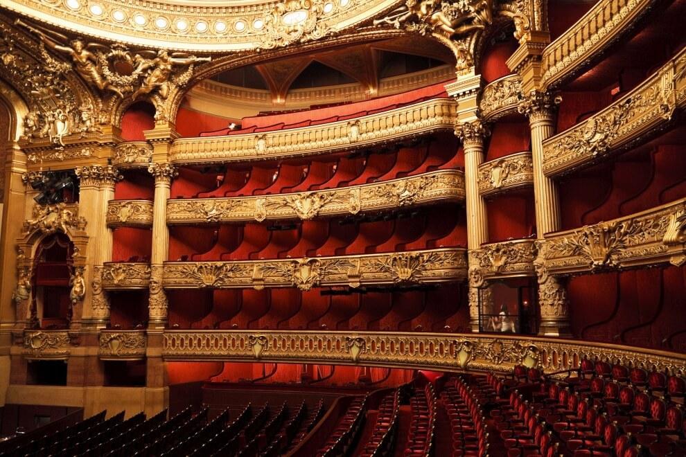 Widownia Opera Garnier