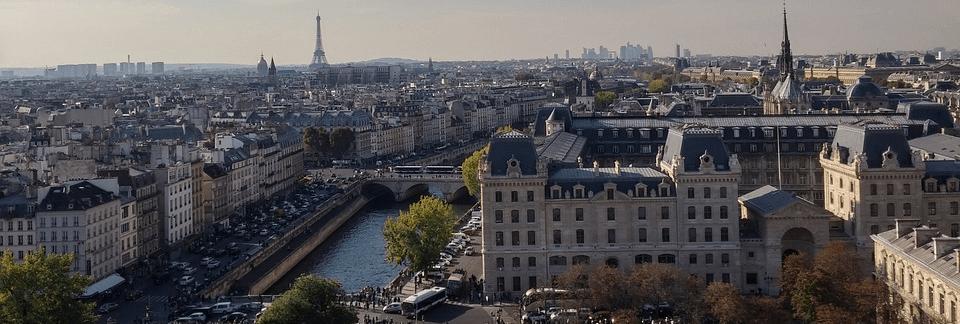 Paryż, panorama