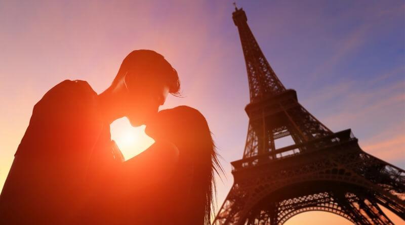 Paryż Walentynki
