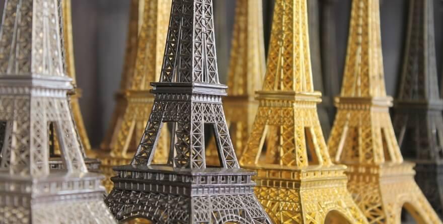 Pamiątki z Paryża