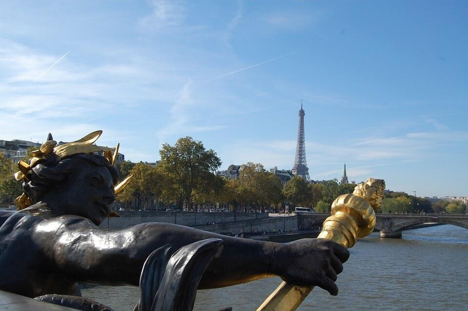 Most Aleksandra III Paryż