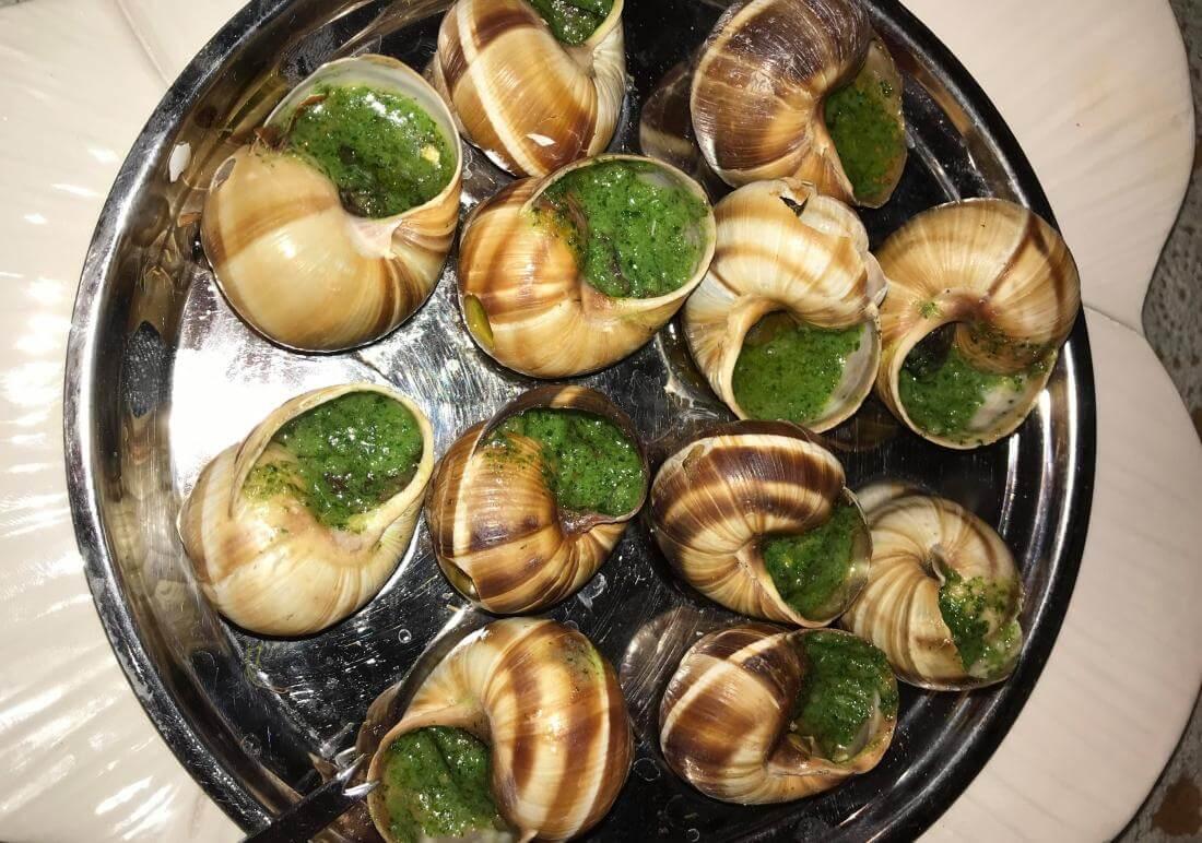 ślimaki - escargots