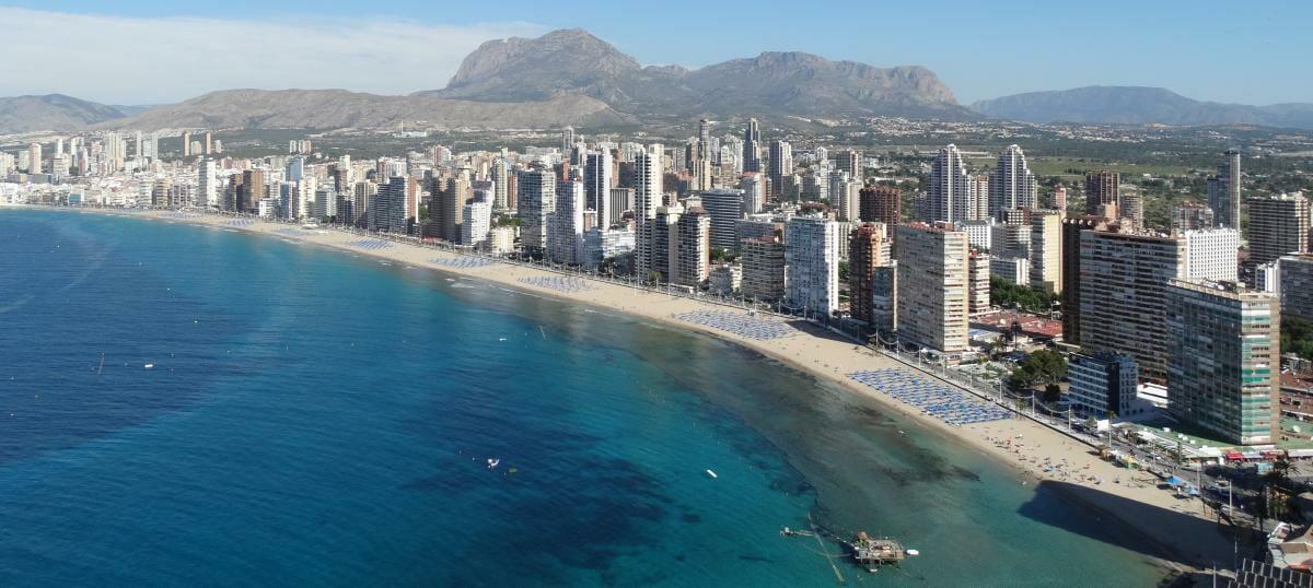 Airbnb nocleg w Benidorm - Hiszpania