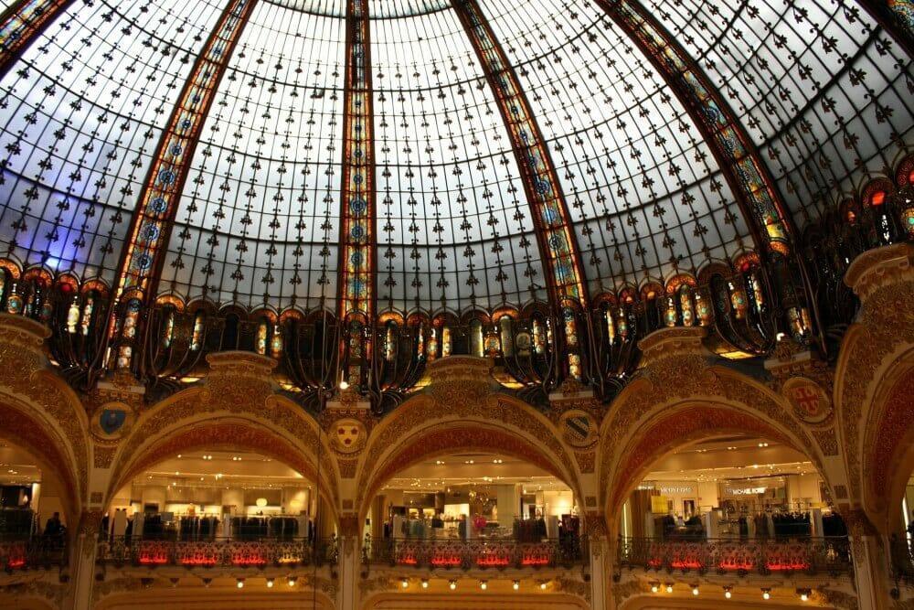 Galeria Lafayette - wnętrze