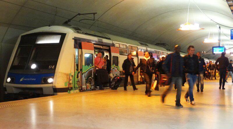 RER - szybka kolej w Paryżu
