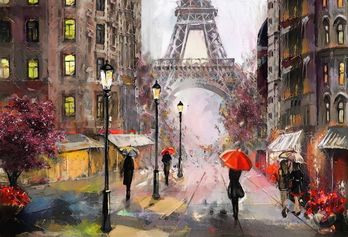 stylowy Paryż